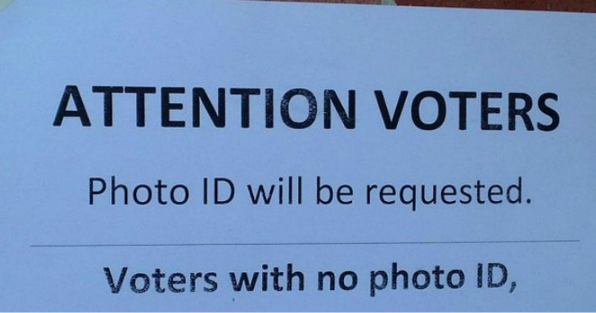 voting photo id.jpg?resize=1200,630 - 80 Percent Of Americans Are In Favor Of Voting Laws Requiring A Picture ID