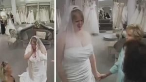 bride wedding dress bullies 300x169 - A Mother Insults Daughter Trying Out Wedding Dresses But Then Strangers Do THIS.. Incredible!