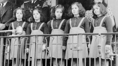 dionne quints life 412x232.jpg?resize=412,232 - These Five Girls Were Featured In Media Their Entire Childhood, When They Turned 18, Their Dark Secret Came Out