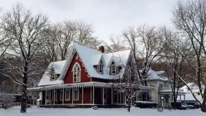 gingerbread 300x169 - Gorgeous Gingerbread-Style Home For Sale at Unbelievable Price