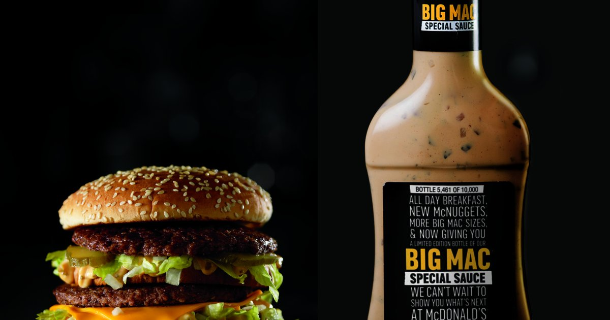 mcdonalds is giving away bottles of its famous big mac sauce for the first time.png?resize=648,365 - La sauce du Big Mac, bientôt disponible en supermarché !