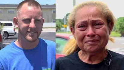 stranger gives free car to struggling mom 412x232.jpg?resize=412,232 - Car Mechanic Gave Car To Grieving Mother For Free After Learning Her Veteran Son Died From PTSD