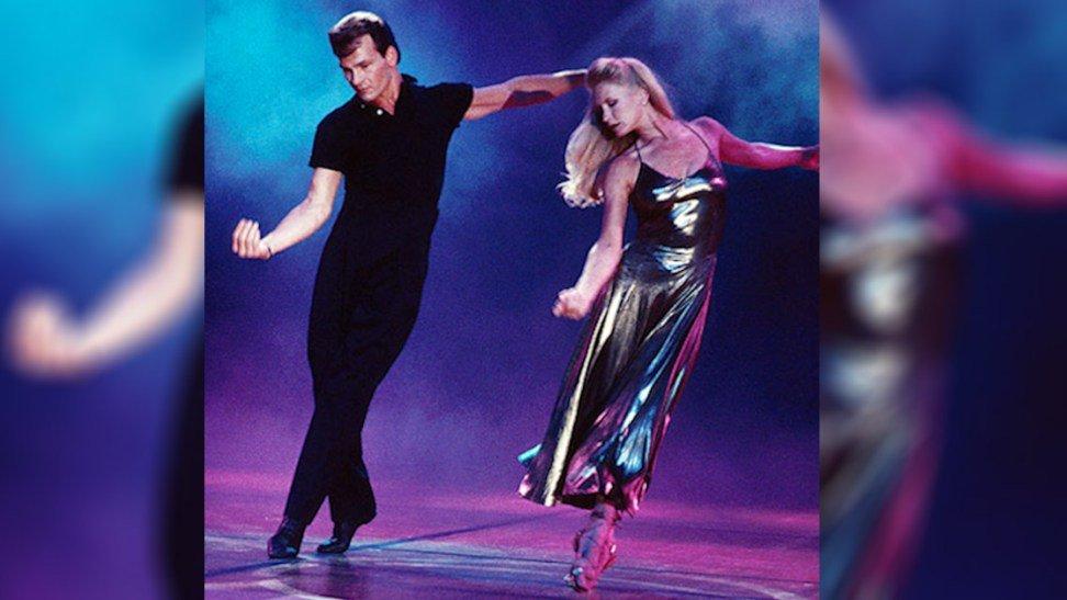 swayze.jpg?resize=1200,630 - [VIDÉO] Patrick Swayze danse avec sa femme et c'est sublime