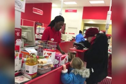 target 412x275.jpg?resize=412,275 - Young Cashier Helped Elderly Woman But Didn't Expect To Receive Incredible Reward
