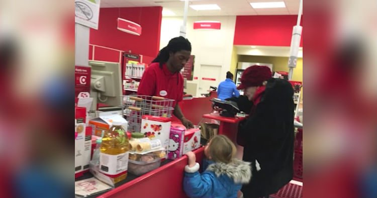 target.jpg?resize=1200,630 - Young Cashier Helped Elderly Woman But Didn't Expect To Receive Incredible Reward