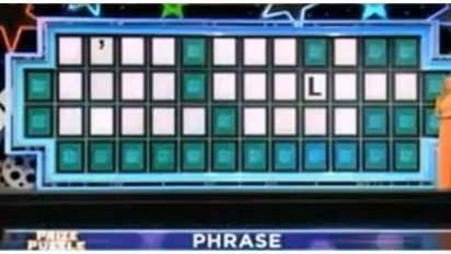 wheel of fortune guess 412x232.jpg?resize=412,232 - With Just One Letter, Wheel Of Fortune Player Guessed The Right Answer!
