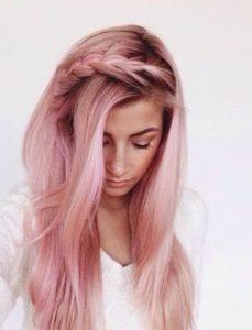 Zoom Sur La Tendance Qui Cartonne Les Cheveux Rose Gold Vonjour