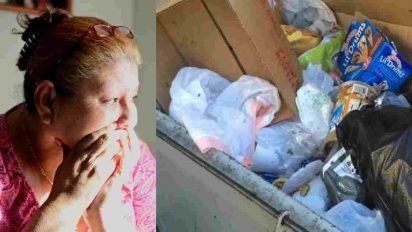 abandoned baby dumpster 412x232.jpg?resize=412,232 - Man Discovered Abandoned Newborn Baby And Saved The Girl's Life
