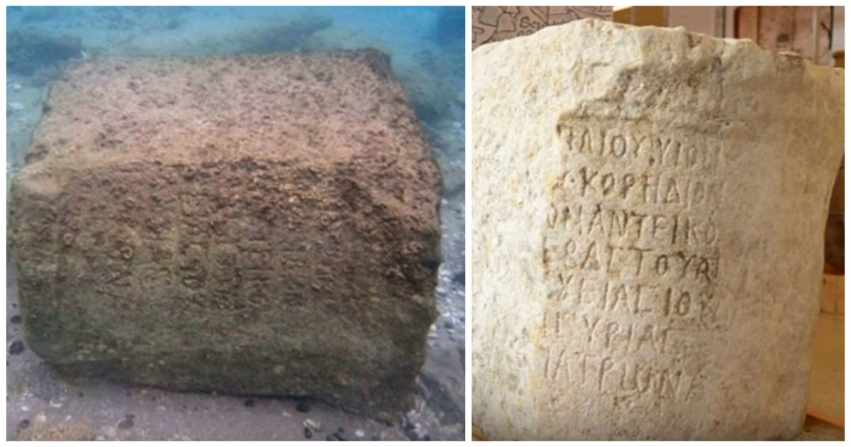 ancient tablet jesus cover.jpg?resize=1200,630 - 1800-Year-Old Tablet Found Under The Sea Shocks Archaeologists With Information About Jesus!
