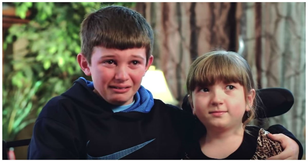 brother breaks down cover.jpg?resize=1200,630 - These Siblings Are Inseparable.. But As Her Heartbreaking Secret Is Revealed, He Breaks Down In Tears