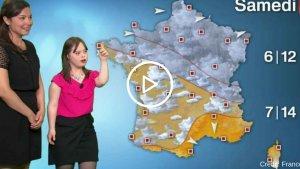 credit  france 2 300x169.png?resize=300,169 - Mélanie, jeune femme trisomique, réalise son rêve et devient «miss météo» sur France 2