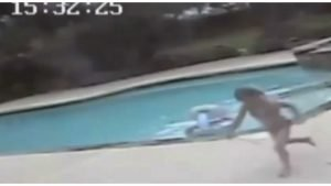 girl saves mother pool cover 300x169 - 5-Year-Old Realizes The Terrible Truth And Runs As Fast As She Can..Watch The Video To See Why