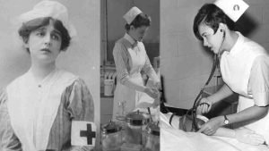 history nurses uniform 300x169.jpg?resize=300,169 - Nurses Were Forced To Wear These In the 1950s And 60s: The FASCINATING History of Nurse Uniforms