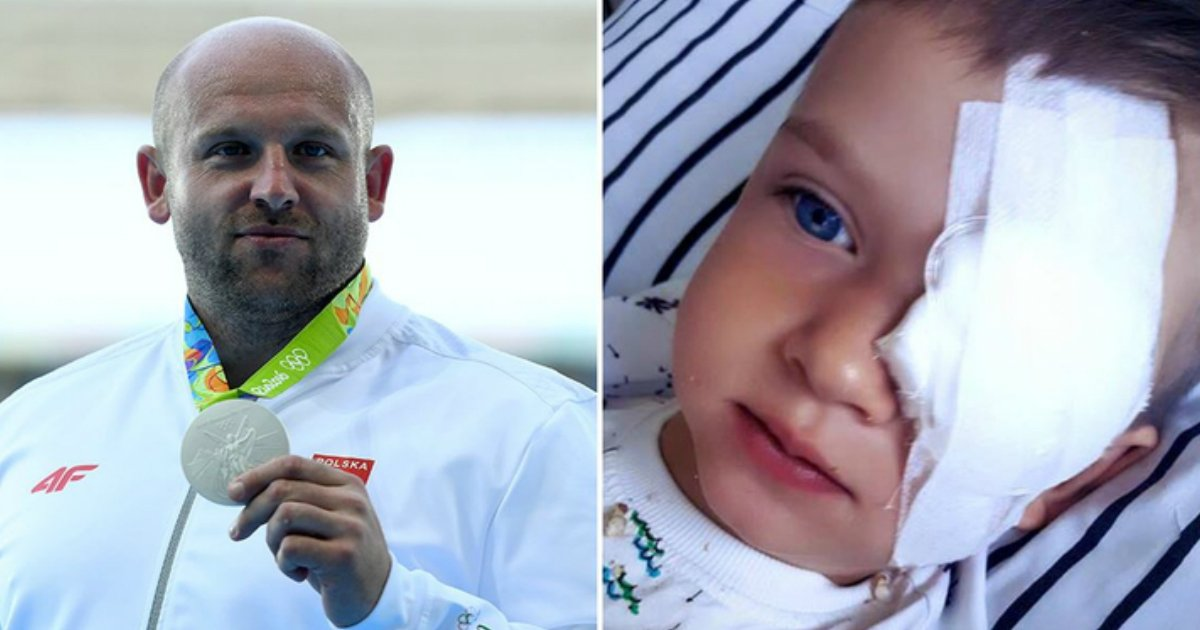 medalist sell medal.jpg?resize=1200,630 - Discus Thrower Who Won Silver Medal Saved Life Of 4-Year-Old Boy With Retinoblastoma
