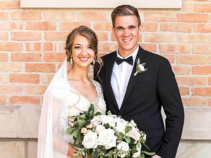 """Mikayla Ellison and her husband Cody. Image via <a href=""""http://www.kellphotography.com/"""">K Ell Photography</a>"""