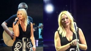 miranda lambert concert 1 300x169 - Miranda Lambert Breaks Down Into Tears As She Sees A Sign In The Audience