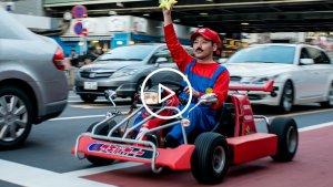sans titre 2 300x169 - Japon: Mario Kart envahit les rues de Tokyo !