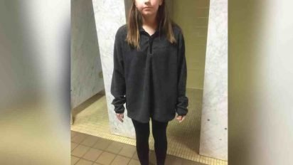 student banned leggings 412x232.jpg?resize=412,232 - Mother Outraged After Daughter Got Kicked Out Of School For Wearing Leggings