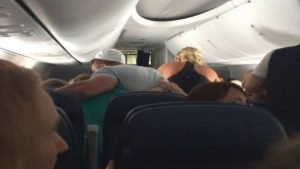 tim tebow prayer 300x169.jpg?resize=300,169 - Passenger Has Heart Problems Mid-Flight But Then A Famous Athlete Comes Over And Does THIS! Inspiring!