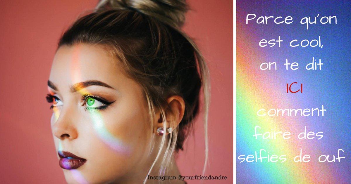 top 8 9 - Si tendance tu veux être, le Rainbow light filter tu utiliseras