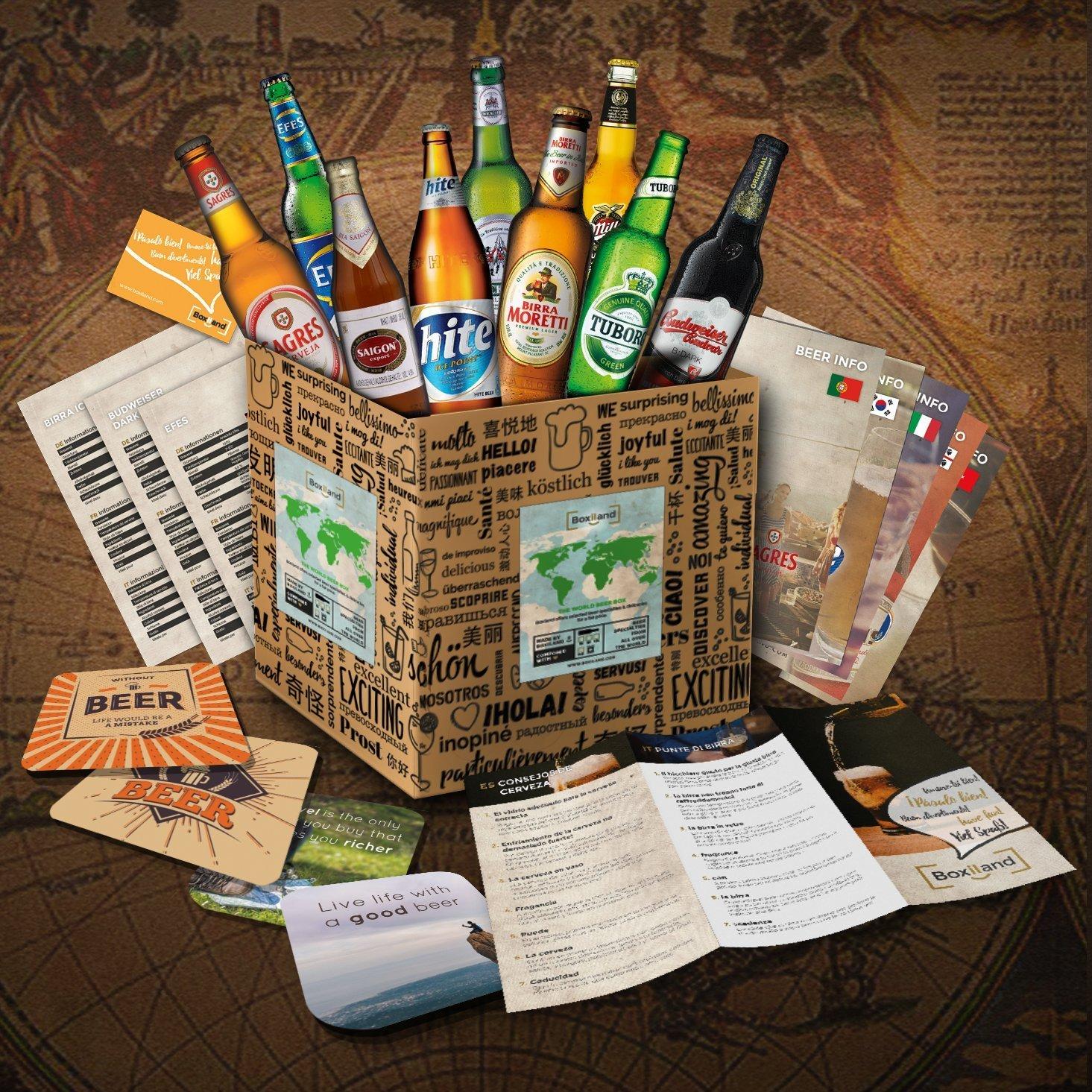 91uh2iflril  sl1465  - Le coffret des 9 bières du monde