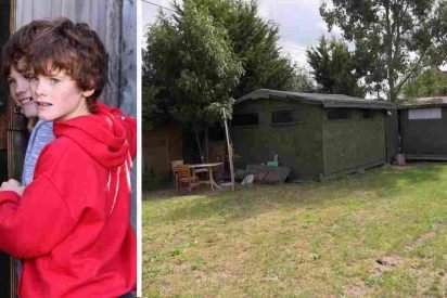 autistic twins house 412x275.jpg?resize=412,275 - Parents Built A Locked Shed With Fence Around It For Their Twin Boys With Severe Autism