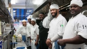 Culinary Students at the Kitchen