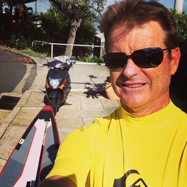 Terry, the hero lifeguard. Image via Instagram