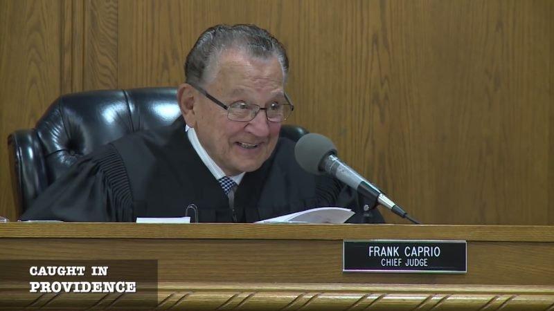 Judge Caprio. Image via YouTube.