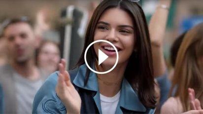 kendall 412x232.jpg?resize=412,232 - Vidéo: découvre la dernière pub Pepsi qui fait scandale