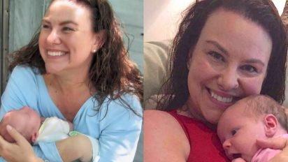 nurse surprise coworker 412x232.jpg?resize=412,232 - Nurse Surprised Her Co-Worker Who Got Custody Of Granddaughter With Bags Of Baby Stuff
