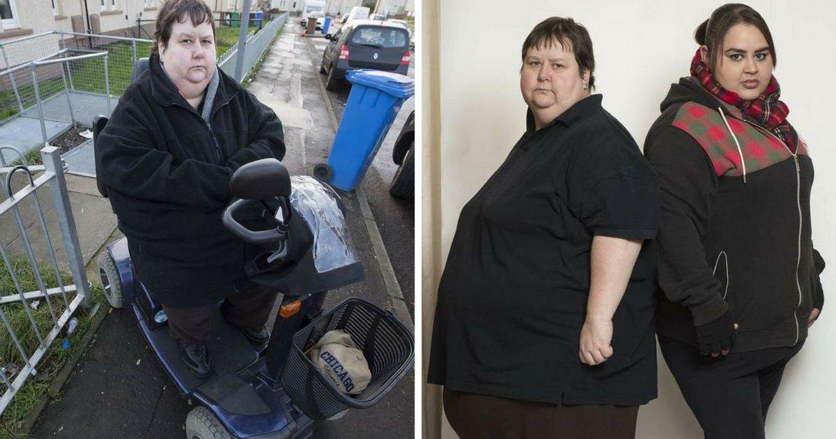 on vous donnelacc82ge 7 - Une mère et sa fille refusent de maigrir pour ne pas avoir à travailler