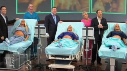 preg trips 412x232.jpeg?resize=412,232 - Triplets Announced On National TV That All Three Of Them Are Pregnant