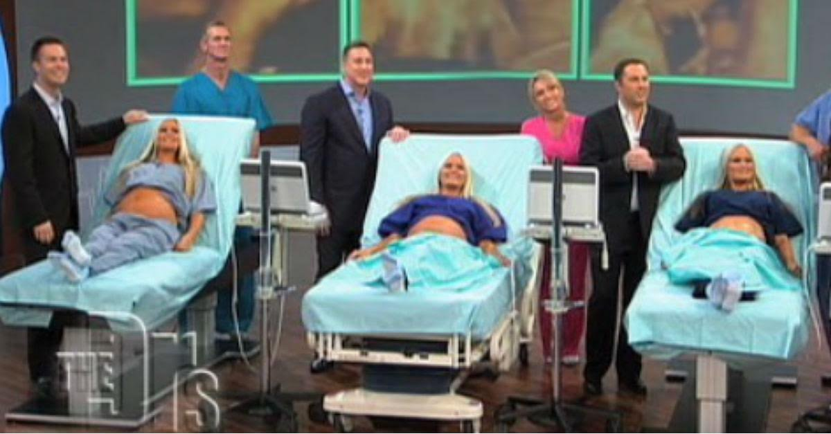 preg trips.jpeg?resize=1200,630 - Triplets Share Unbelievable Surprise on National TV and Then THIS Happens