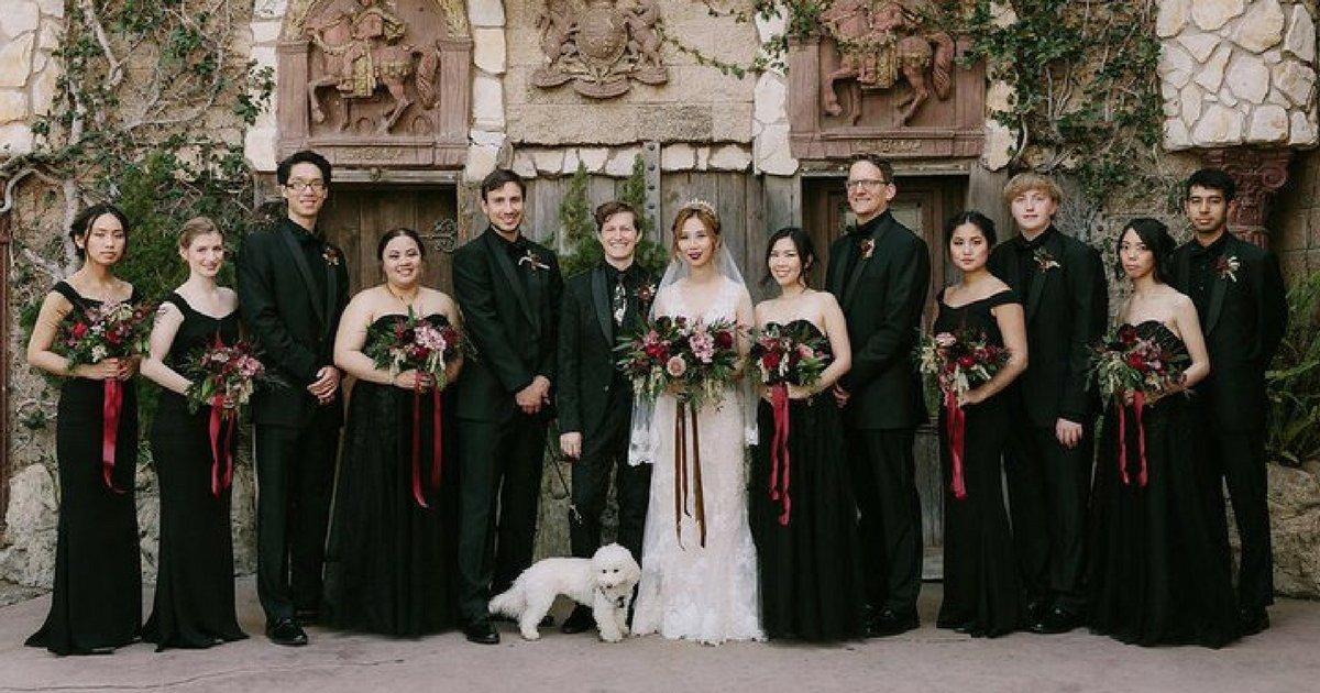 sans titre 15.png?resize=1200,630 - Ils ont organisé leur mariage sur le thème de Harry Potter et c'est sublime !