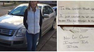 secret envelope about car 4 300x169.jpg?resize=300,169 - Dad Finds Hidden Envelope In Daughter's Car, Bursts Into Tears When He Reads Letter Inside
