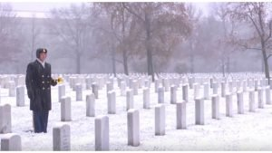 taps soldier cover idea 300x169 - He Stands Alone In Snowy Winter, But Take A Look At What He's Holding.. Incredible!