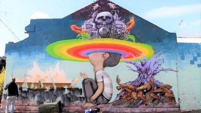 a0fbf8ab9fd5a571195ca3620311f178 412x232.jpg?resize=412,232 - Découvrez les peintures urbaines incroyables de cet artiste