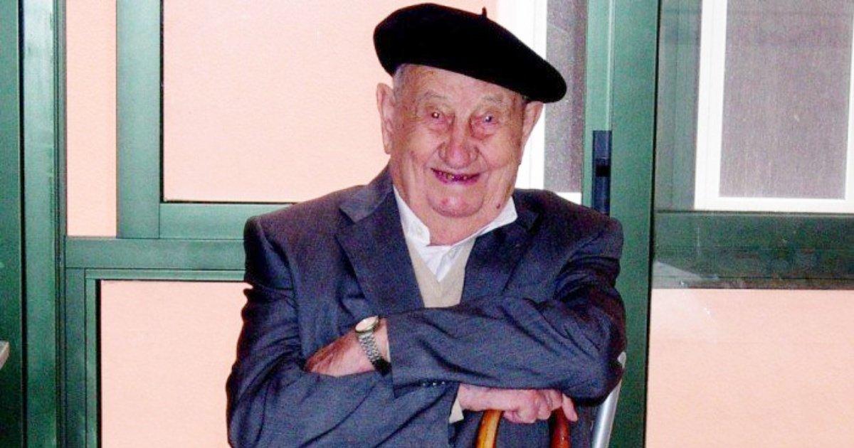 antonio 1.jpg?resize=1200,630 - Histoire improbable: cet homme boit 6 litres de vin tous les jours et meurt à 107 ans