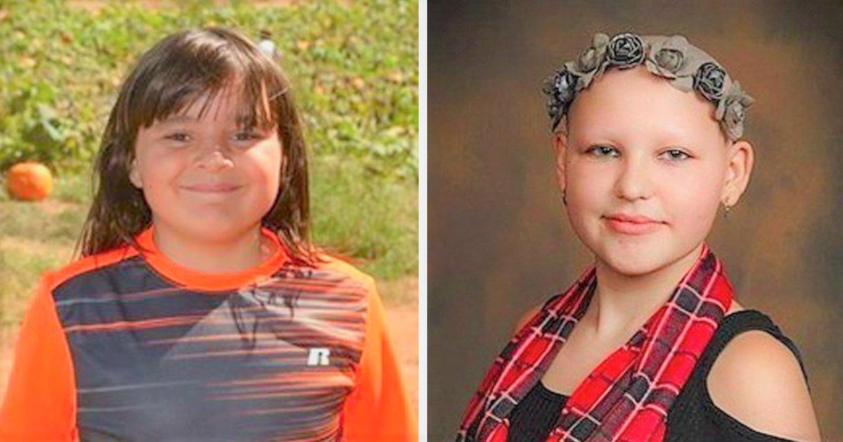 boy donates hair sick friend tyler boone gabby ruiz fb - Cette fillette malade est chauve, ce que fait ce garçon de 10 ans va vous surprendre