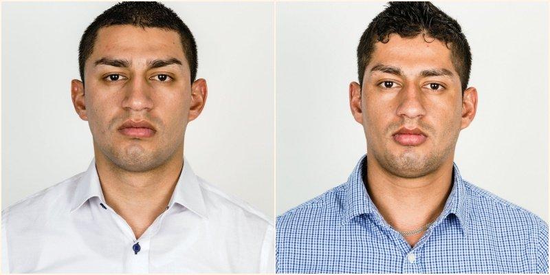 Carlos et Wilber, jumeaux identiques © Stefan Ruiz pour le New York Times