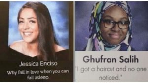 cover quote 300x169 - 11+ Hysterically Clever Yearbook Quotes That You Wish You Thought Of