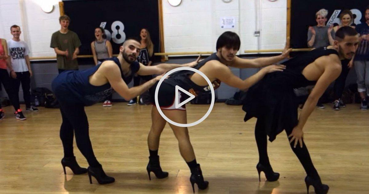on oublieque les hommespeuvent ecc82trevictimes 8.png?resize=1200,630 - Vidéo virale: cette dance de Beyoncé par 3 hommes en talons va vous scotcher