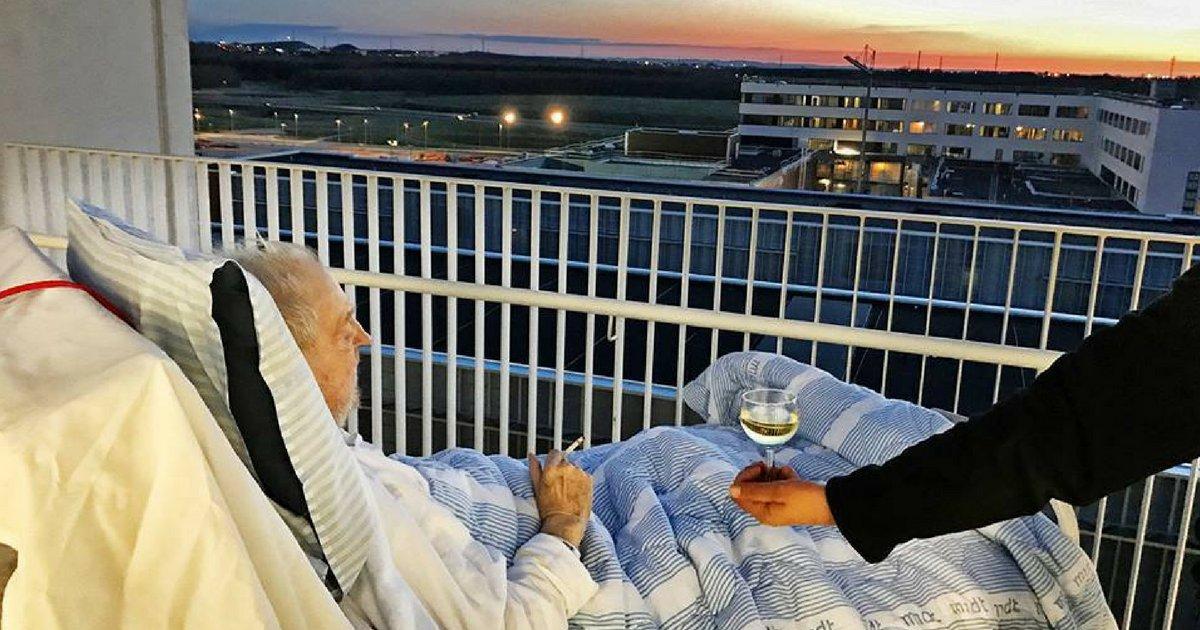 on vous donnelacc82ge 6.png?resize=1200,630 - Une infirmière enfreint les règles de son hôpital pour offrir à ce patient mourant un dernier voeu !