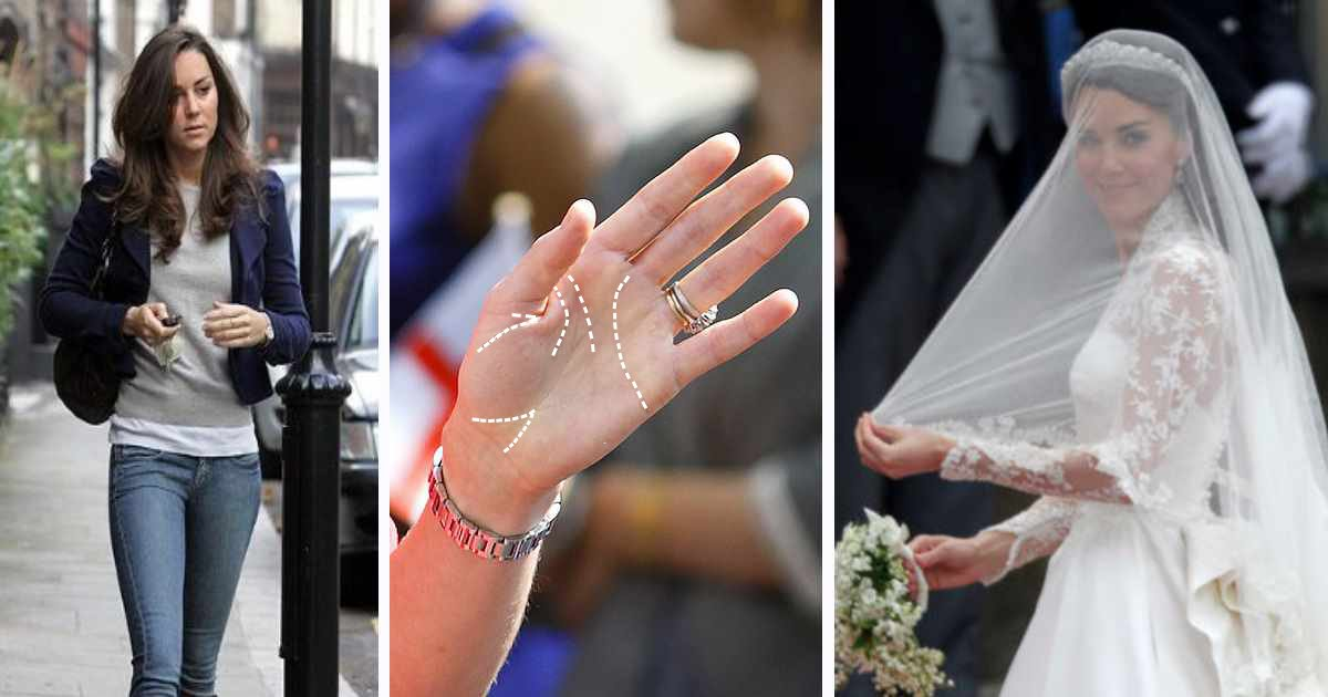palm reading kate middleton.png?resize=1200,630 - Kate Middleton's Destiny Was Written On Her Palm All Along - You Can Read Your Destiny With This Guide