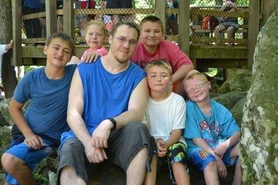 Mike et ses enfants / Via @MikeMartin1982 sur twitter