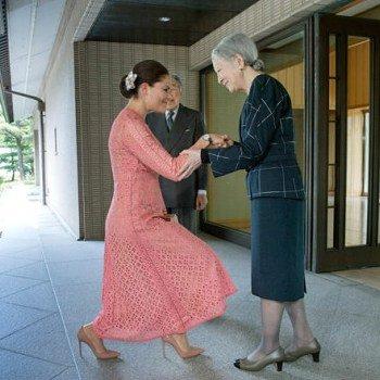 スウェーデンの王女と美智子さま