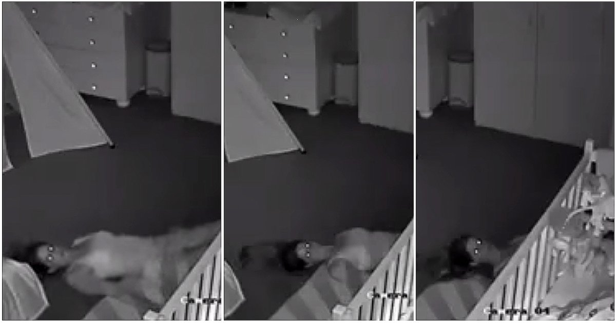 nursery horror cam.png?resize=412,232 - Dad Monitors Nursery Cam Footage But Stops After Seeing His Wife Dragged Away On The Floor