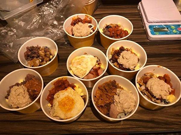 송찬양씨가 구조대원들에게 제공한 식사. 출처 : himmsong/facebook