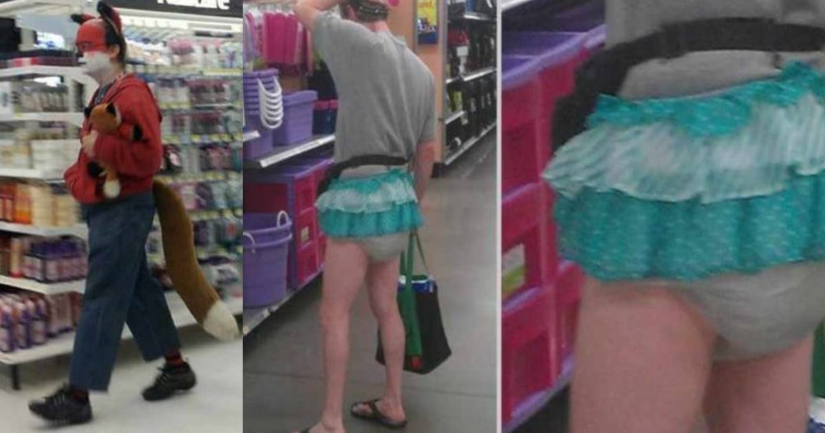44 people of walmart.jpg?resize=1200,630 - Funny Photos That Prove The World Is Full Of Weird Shoppers